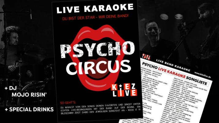 Psycho Live Karaoke - DJ Mojo Risin'