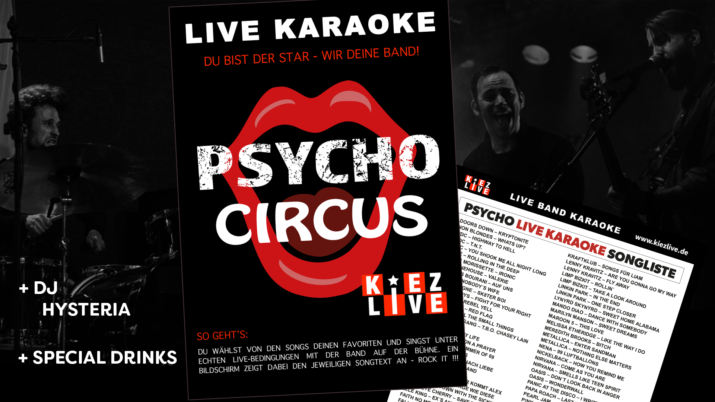 Psycho Live Karaoke - DJ Hysteria