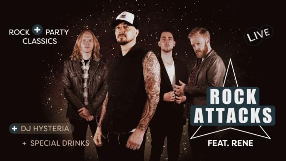 Rock Attacks mit DJ Hysteria