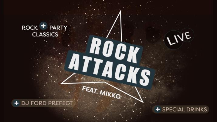 Rock Attacks feat Mikko - DJ Ford Prefect