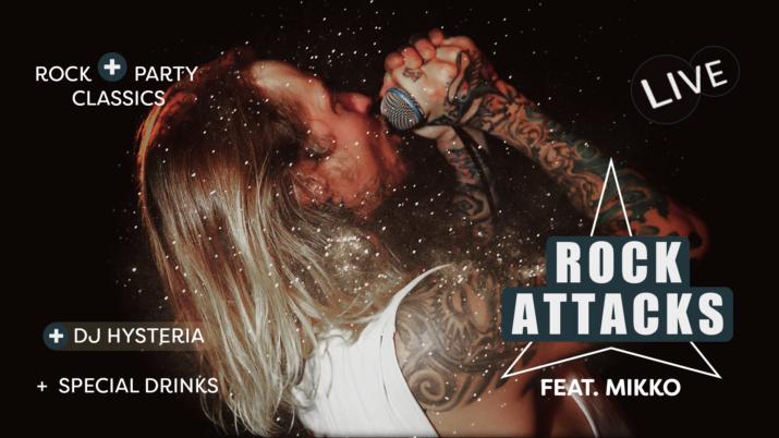 Rock Attacks feat Mikko - DJ Hysteria