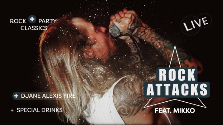 Rock Attacks feat - Mikko - DJane Alexis Fire