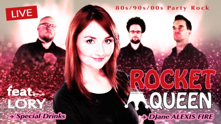 Rocket Queen - Lory DJane Alexis Fire