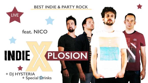 Indie X-plosion mit DJ Hysteria