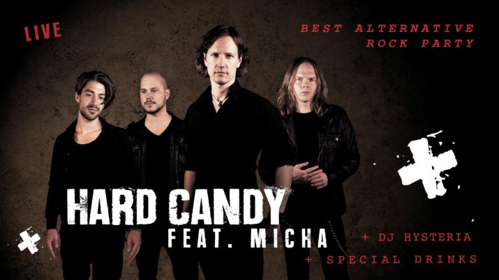 Hard Candy mit DJ Hysteria