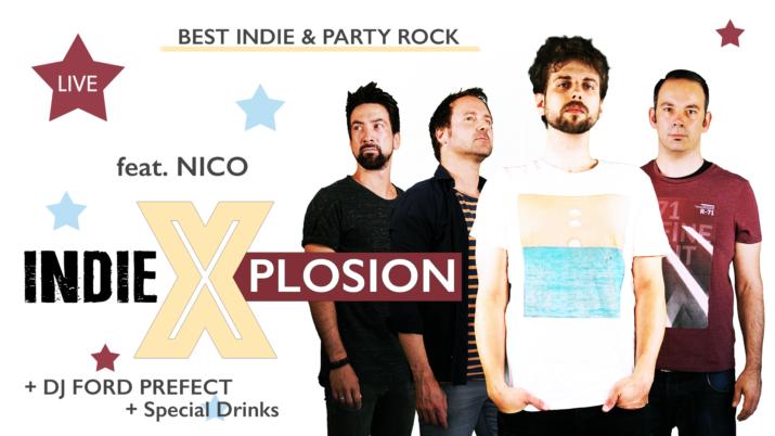 Indie X-plosion mit DJ Ford Prefect