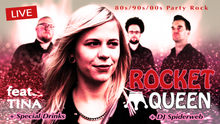 Rocket Queen Tina - DJ Spiderweb
